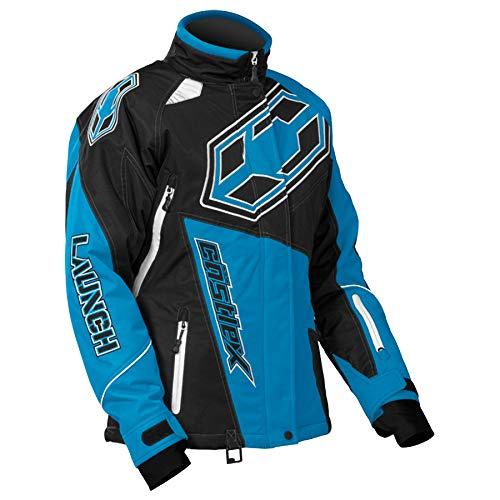 Castle X Launch-G4 Womens Snowmobile Jacket - Reflex Blue -SML