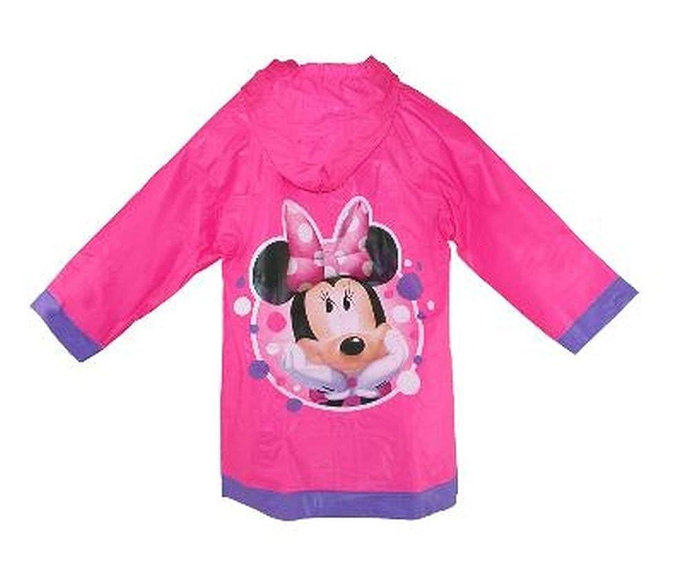 Penguin Kids Wear Minnie Mouse Girls Rain Slicker