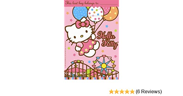 8 Hello Kitty Balloon Dreams Party Loot Bags Amscan SG/_B004L05IA2/_US