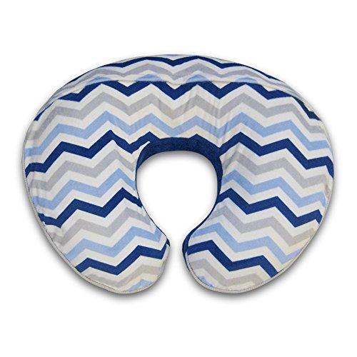 Boppy Pillow Slipcover, Boutique Navy Chevron by Boppy (Image #1)