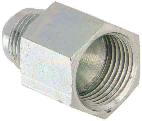 Eaton Aeroquip 221501-16-12S Reducer, Female 37 Degree JIC, JIC 37 Degree End Types, Carbon Steel, 1 JIC(f) x 3/4 JIC(m) End Size, NULL Tube OD by Aeroquip (Image #1)