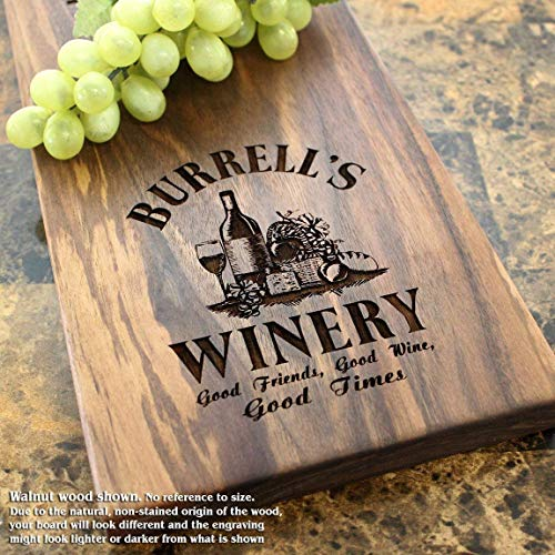 Winery Personalized - Winery Personalized Cheese Board – Housewarming Gift, Wedding Shower, Wedding Gift, Anniversary Gift. #304