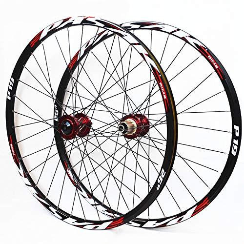 (JK MTB Mountain Bike Soft Tail Downhill AM Thru Axis Axle Sealed Bearing Wheels 26/27.5/29inch Wheelset 20110mm 12142mm Rim (26inch))