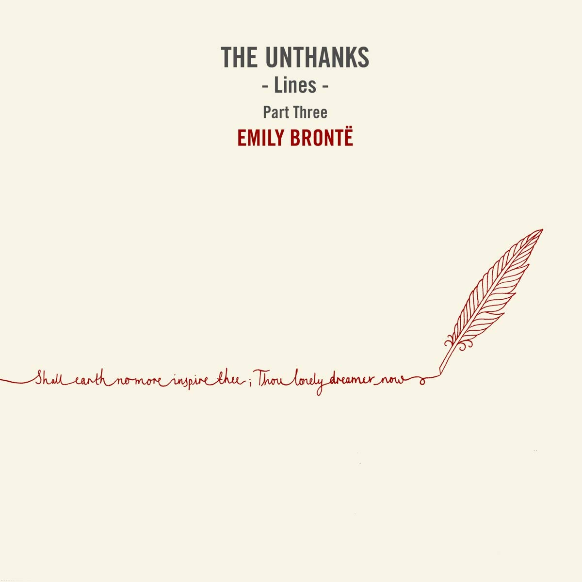 Unthanks Lines Part Three Emily Bronte Amazoncom Music