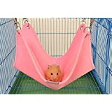 Winter Warm Comfortable Plush Hammock Swing Hanging Bed Nest House Pet Syrian Hamster Gerbil Rat Mouse Chinchillas Guinea Pig Squirrel Small Animal Cage Toy