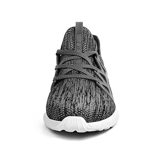 Sneakers Grigio bianco Sportivo Ginnastica In Scarpe Elegante Da Corsa Donna Atletiche Zocavia Moda xw6IBPq4