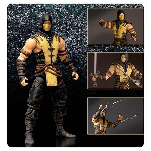 "Mortal Kombat Scorpion Action Figure 6"""