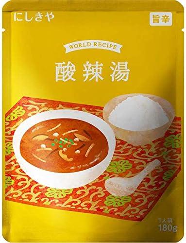 にしきや 酸辣湯(サンラータン) 旨辛 180g レトルト スープ
