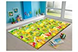 Cheap MyLine Baby PlayMat_Fruit Garden/Train ABC-Extra Thick