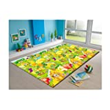 Amazon Price History for:MyLine Baby PlayMat_Fruit Garden/Train ABC-Extra Thick