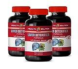 Liver Boosting Supplements - Liver DETOXIFIER Formula - protease Enzyme Supplement - 3 Bottles 180 Capsules