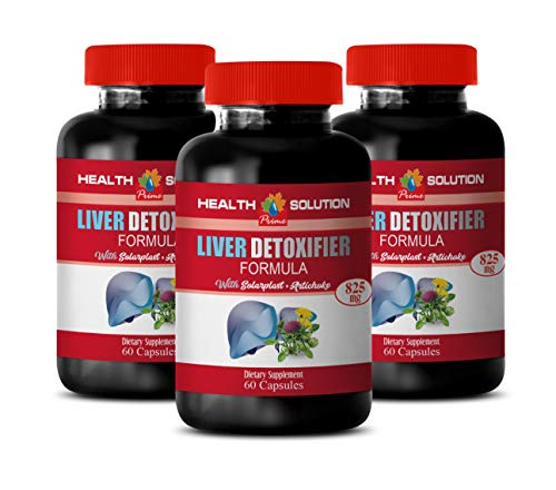 Liver Boosting Supplements - Liver DETOXIFIER Formula - protease Enzyme Supplement - 3 Bottles 180 Capsules by Health Solution Prime (Image #7)