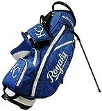 Team Golf MLB Kansas City Royals Fairway Golf Stand Bag, Lightweight, 14-way Top, Spring Action Stand, Insulated Cooler Pocket, Padded Strap, Umbrella Holder & Removable Rain Hood