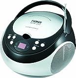 NAXA Electronics NPB-251BK Portable CD Player with AM/FM Stereo Radio
