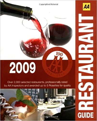 Free download audio books in english AA Restaurant Guide 2009 (AA Lifestyle Guides) FB2