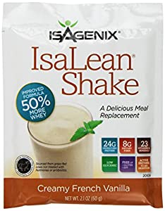 ISAGENIX IsaLean Shake Creamy French Vanilla 14/2.1 oz packets