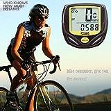 Binmer(TM) Wireless LCD Digital Cycle Bike Computer Bicycle Speedometer Odometer Waterproof