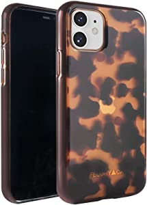 FELONY CASE - iPhone 11 Case - Classic Tortoise - 360º Shock-Absorbing Protective Stylish Classic Tortoise Shell Case - Scratch Proof