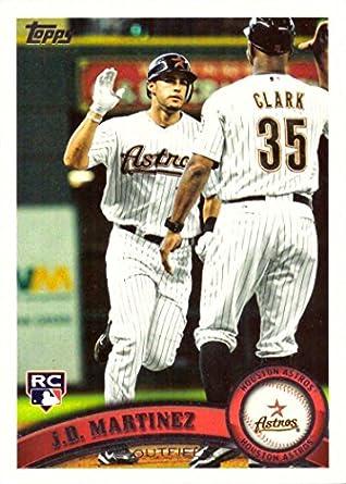 2011 Topps Update Baseball Us186 Jd Jd Martinez Rookie Card