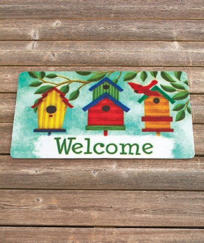 Birdhouse Themed Welcome Mats
