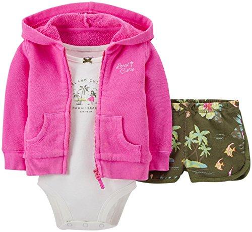 Carters Baby Girls Tropical Short