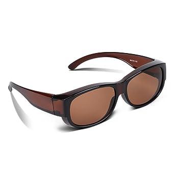 EWIN O02 Polarizado Sobre los vidrios, Gafas de Sol de Fitover de la Prescripción Estilos