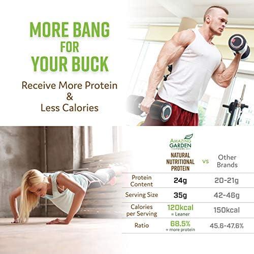 Proteína Vegetal Con base en polvo, alérgenos gratuito, 9 ...