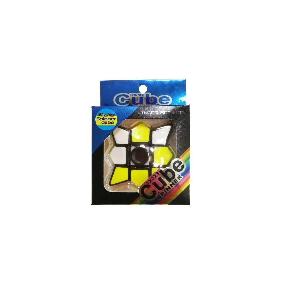 GHB - Juego Juguete Cubo de Rubik, Fidget Finger Spinner ...