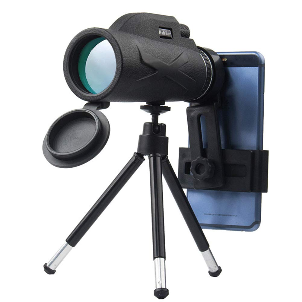 EDIONS Monocular Telescope,80X100 Night Vision High List Binoculars with Mobile Phone Holder Zoom Hd Night Vision for Bird Watching, Travel, Outdoor Climbing by EDIONS