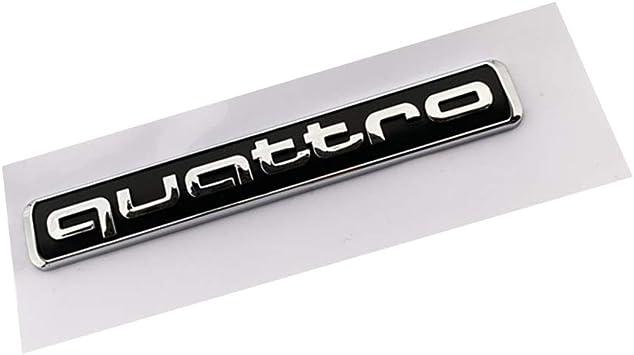 Car Decal Badge quattro Badge Emblem Badge Fit Audi
