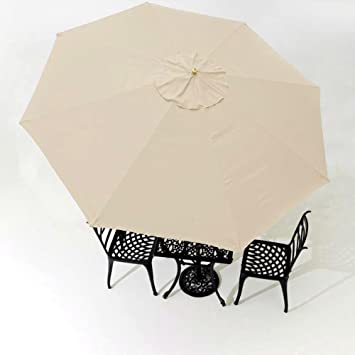 13Ft 8 Rib Patio Umbrella Replacement Cover Canopy Outdoor Market Beach Deck Top & Amazon.com : 13Ft 8 Rib Patio Umbrella Replacement Cover Canopy ...