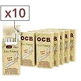 filtres biodégradables ocb extra slim 10 paquets