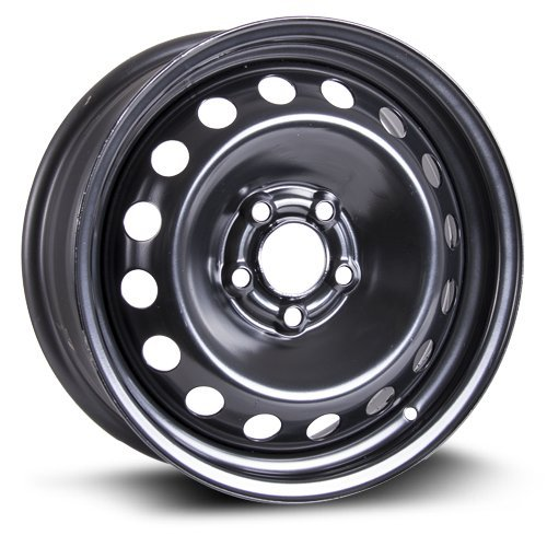 Volvo Steel Rims - Aftermarket Steel Rim 16X6, 5X108, 65.1, +43, black finish (MULTI APPLICATION FITMENT) X40837