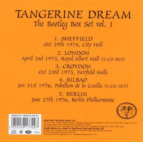 Tangerine Dream: The Bootleg Box Set, Vol. 1