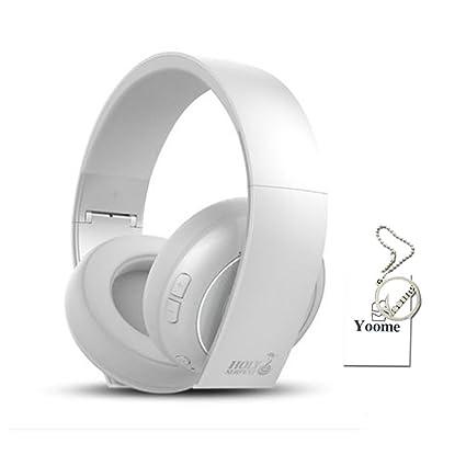 Auriculares Bluetooth Yoome Over Ear Auriculares inalámbricos de cancelación de ruido con micrófono para PC /