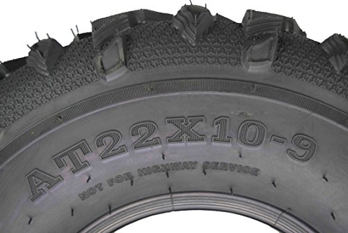 MASSFX Grinder Series ATV Dual Compound Tread Honda Recon All Years (Four Pack Two Front 22x7-11 Two Rear 22x10-9) Mud Sand Snow and Rock Tires by MASSFX (Image #6)