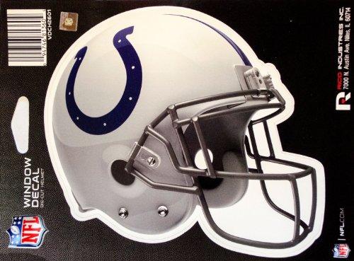 "NFL Helmet Die-Cut 6"" Window Decal (Indianapolis Colts)"