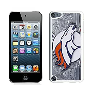 Beautiful Designed Case With Denver Broncos (4) White For iPod Touch 5 Phone Case