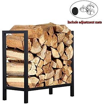 Amazon Com Ucared Firewood Rack Log Rack 24 Inch Indoor