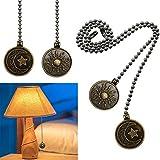 Dotlite Copper Ceiling Fan Pull Chain