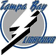 "Tampa Bay Lightning NHL Hockey Car Bumper Sticker Decal 5"""
