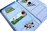 The Purple Cow Magnetic Game Box for Kids