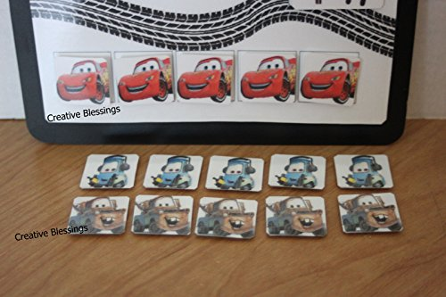 CARS TOKEN BOARD ABA BEHAVIOR REINFORCER FOR AUTISM, ADHD, & ADD Photo #3