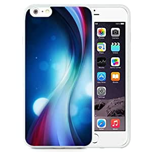 Color Wavy Abstract (2) Silicone TPU iPhone 6plus 5.5 Inch Protective Phone Case