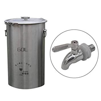 Fermentador de acero inoxidable 304 para fermentación de ...