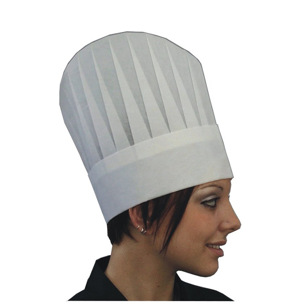 CAPPELLO CUOCO IN TNT 25 PZ Clintex