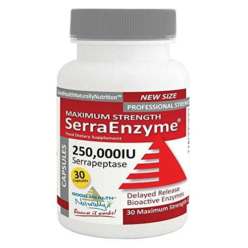 SerraEnzyme™ 250,000IU Maximum Strength - 30 Capsules