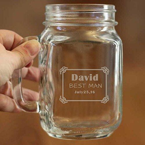 Best Man Mason Jar personalizado regalo de cumpleaños para ...