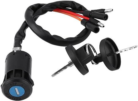 KKmoon Ignition Key Switch for Honda Foreman TRX450ES TRX450S TRX450FE TRX420FE TRX500FM
