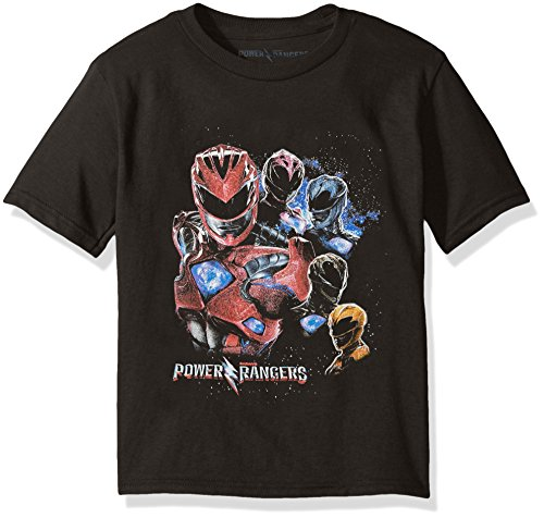 Price comparison product image Power Rangers Big Boys' Short-Sleeve Tee,  Black,  S-8